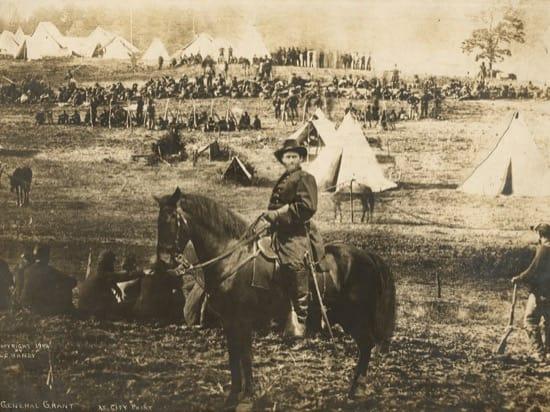 La foto falsa, el fotomontaje, de Ulysses S. Grant