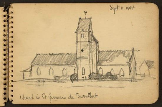 Iglesia de Saint-Germain-de-Tournebut
