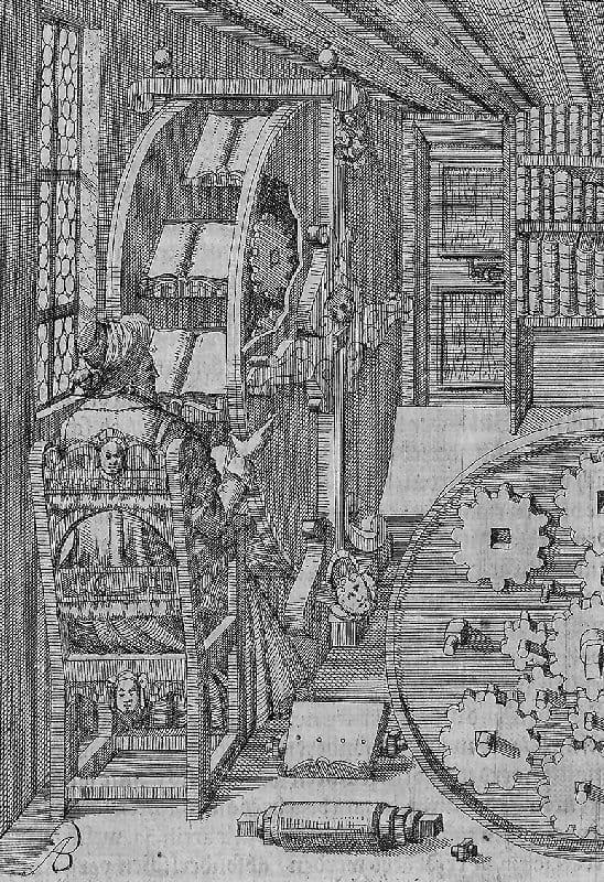 La rueda de libros de Agostino Ramelli