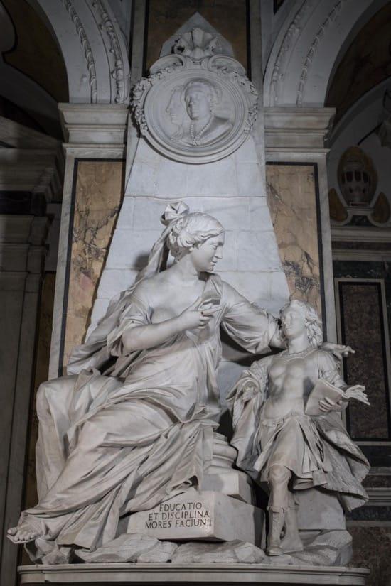 La educación, de Francesco Queirolo, 1753