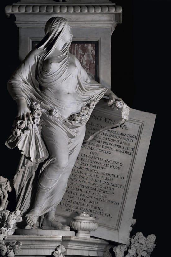 La modestia, de Antonio Corradini, 1752