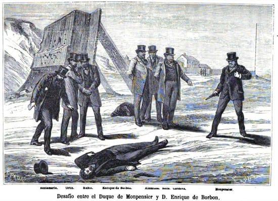 El duelo a pistola por el trono de España que perdieron los dos duelistas