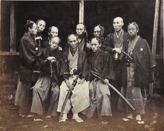 Fotos históricas de samuráis reales 10