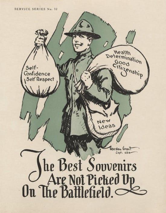 Carteles para Veteranos Primera Guerra Mundial 2