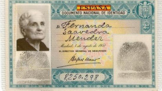 El DNI español mostraba la categoría económica del titular