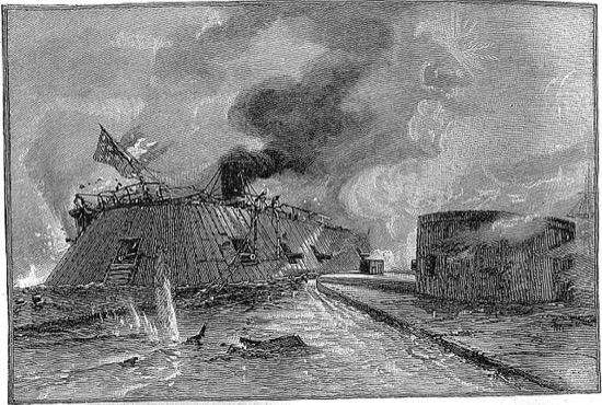 Merrimack y Monitor, la primera batalla naval entre blindados