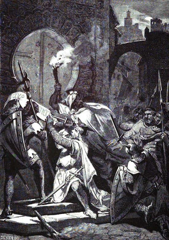 La hazaña de Pérez del Pulgar en la mezquita de Granada
