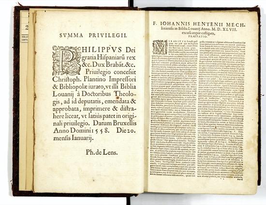 La prohibición de Felipe II de estudiar en el extranjero