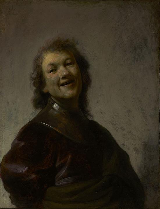 Rembrandt Autorretrato 1628