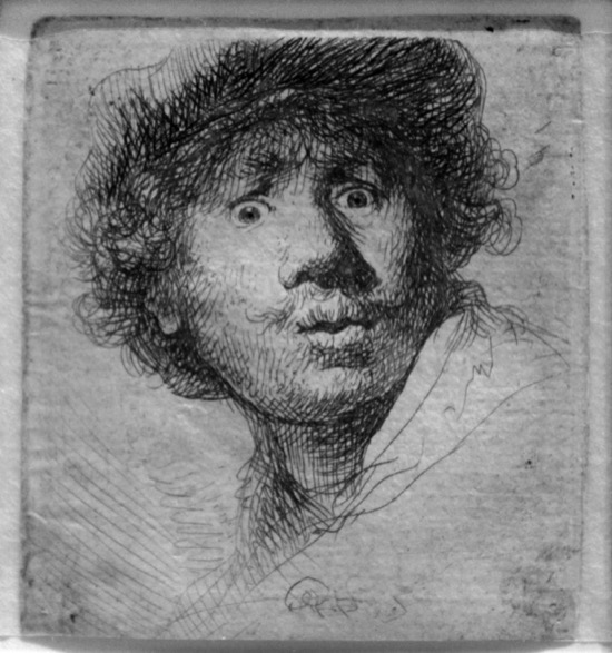 Rembrandt Autorretrato 1630-2