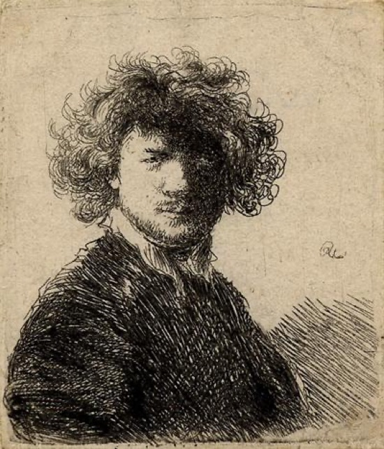 Rembrandt Autorretrato 1630