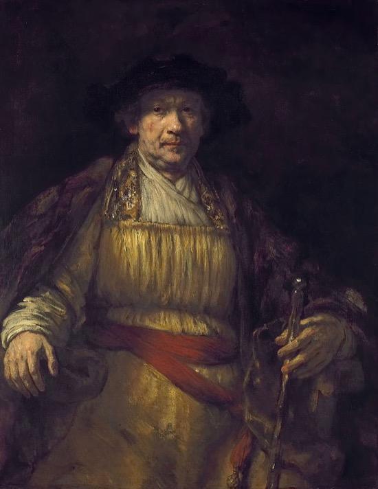 Los autorretratos de Rembrandt