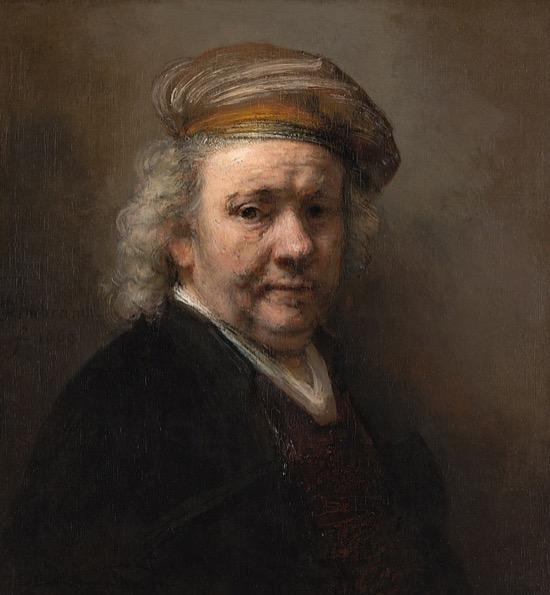 Rembrandt Autorretrato 1669