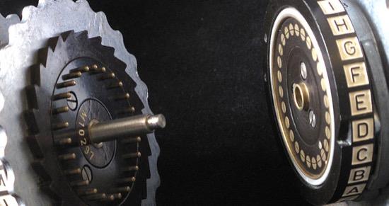Rotores de una máquina Enigma