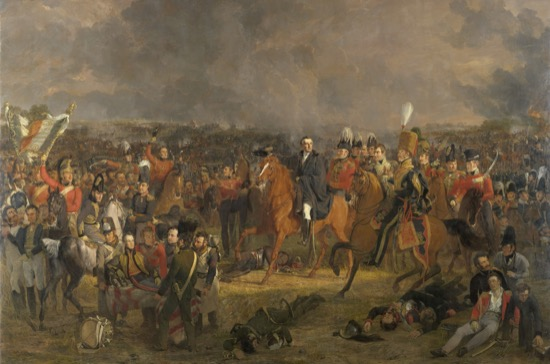 La batalla de Waterloo, de Jan Willem Pieneman, (1824)