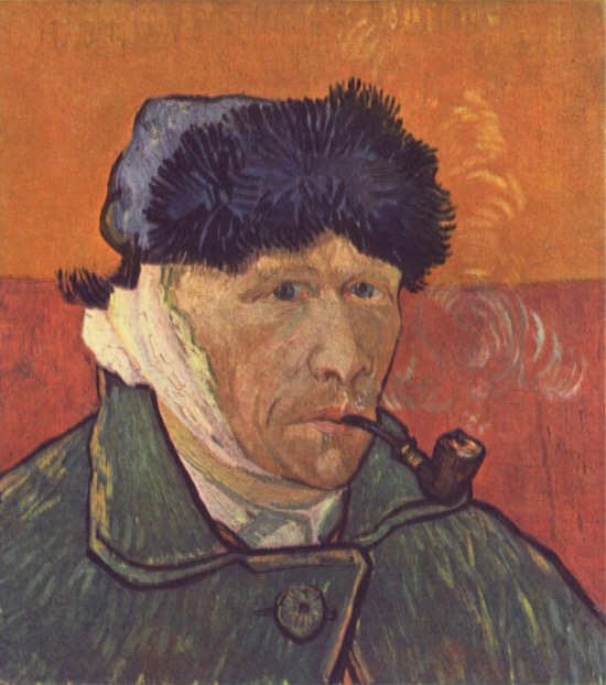 Qué oreja se cortó Van Gogh