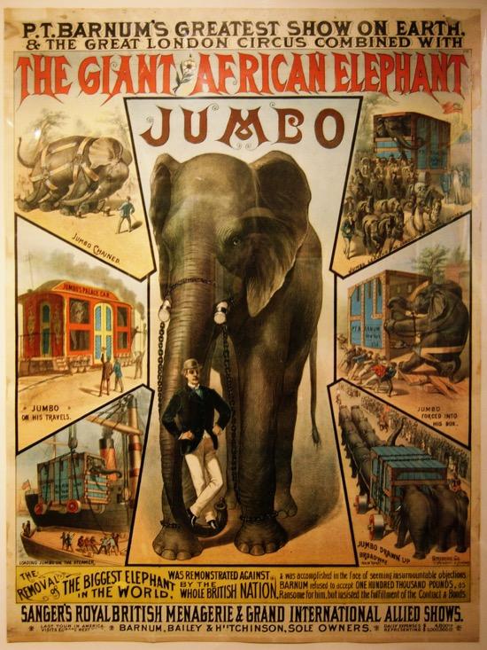 Jumbo, el elefante gigante que dio nombre a un avión y a Dumbo