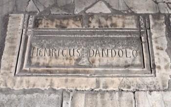 Enrico Dandolo, el único hombre enterrado en Santa Sofía