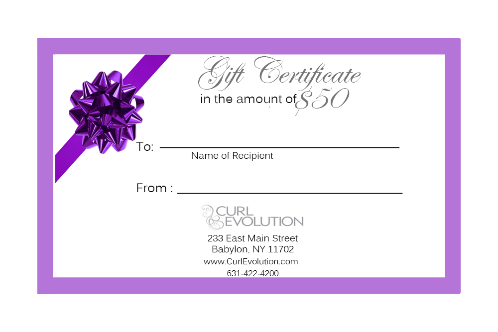 Gift Certificate | Best Curly Hair Products