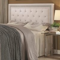 Coaster #300545QF Andenne White Glamours Headboard ...