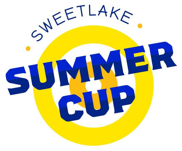 Logo van curlingtoernooi Sweetlake Summercup Curlingbaaan Zoetermeer
