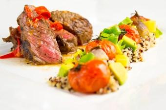 Biefstuk met Quinoa en Mojo