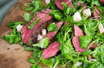 Biefstuk met parmezaan