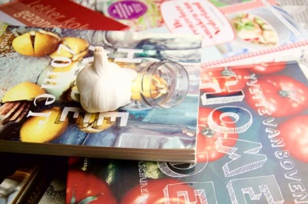 Kookboeken foto
