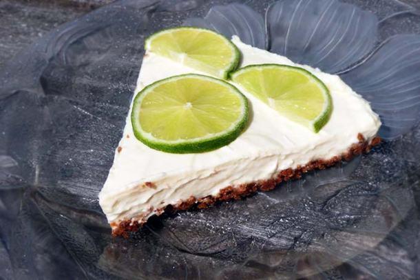 Limoencheesecake