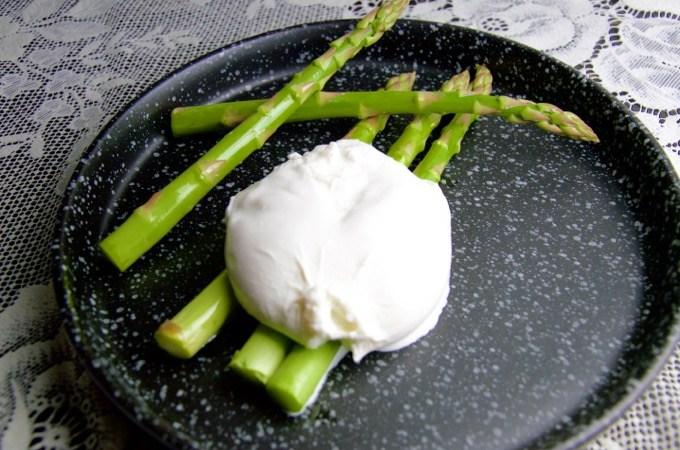Recept Asperges met burrata