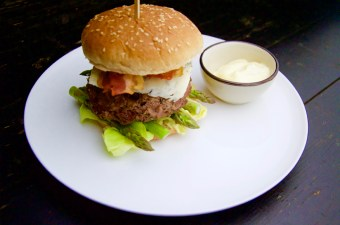 Recept Burger met gorgonzola