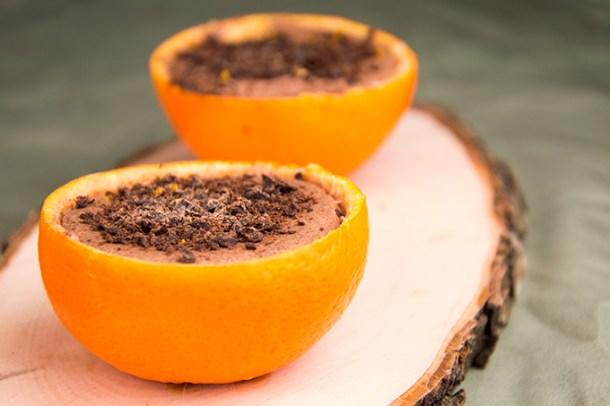 Recept Chocolademousse met sinaasappel