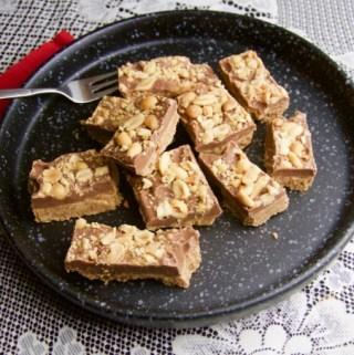 Recept Chocolade pinda repen