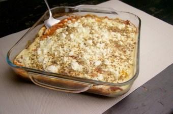 Recept Courgette met gehakt ovenschotel