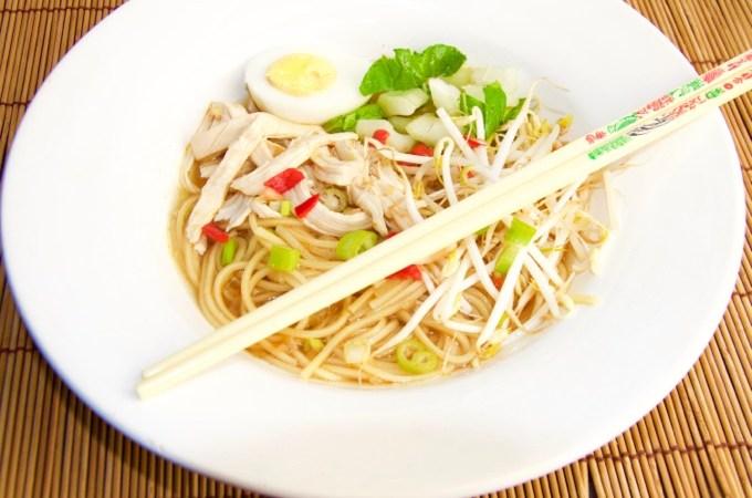 Recept Japanse miso ramen soep