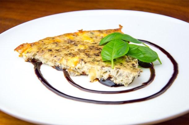 Recept Kaastaart met groenten