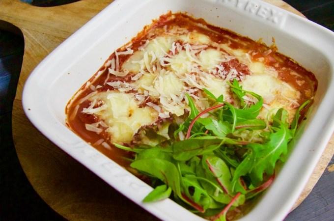 Recept Kip met mozzarella uit de oven