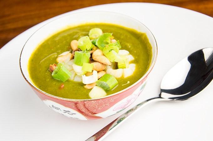 Recept Soep van Broccoli en spinazie