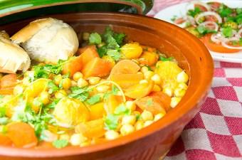 Recept Tajine met wortel en abrikoos