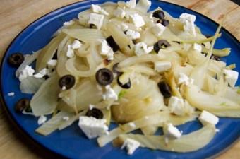 Recept Venkelsalade met feta