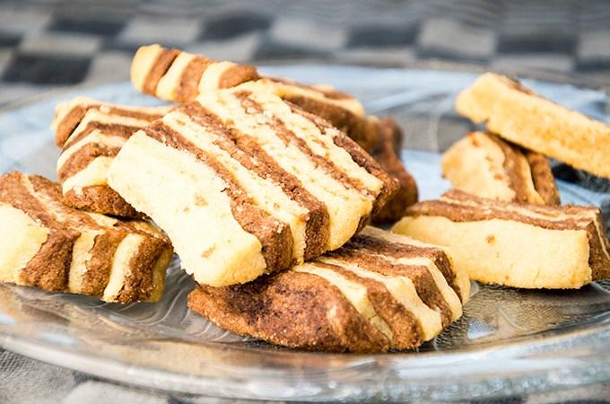 Recept Zandkoekjes met chocolade