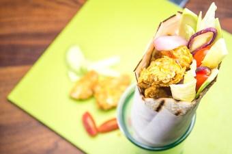 Recept wraps met krokante kip