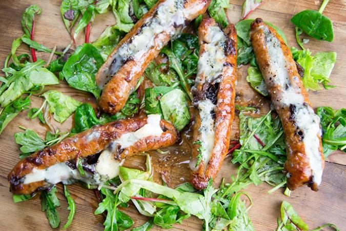 Worst met ui en Gorgonzola