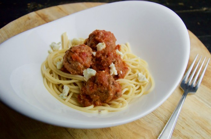 recept Spaghetti met gehaktballen in tomatensaus