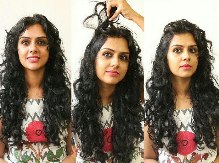 11 Easy Everyday Hairstyles For Curly Hair Curlsandbeautydiary