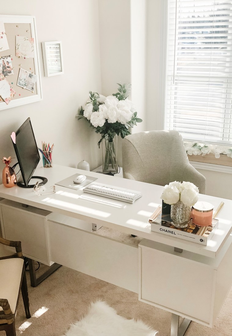 Home Office Decor, and an obsession for desk accessories.