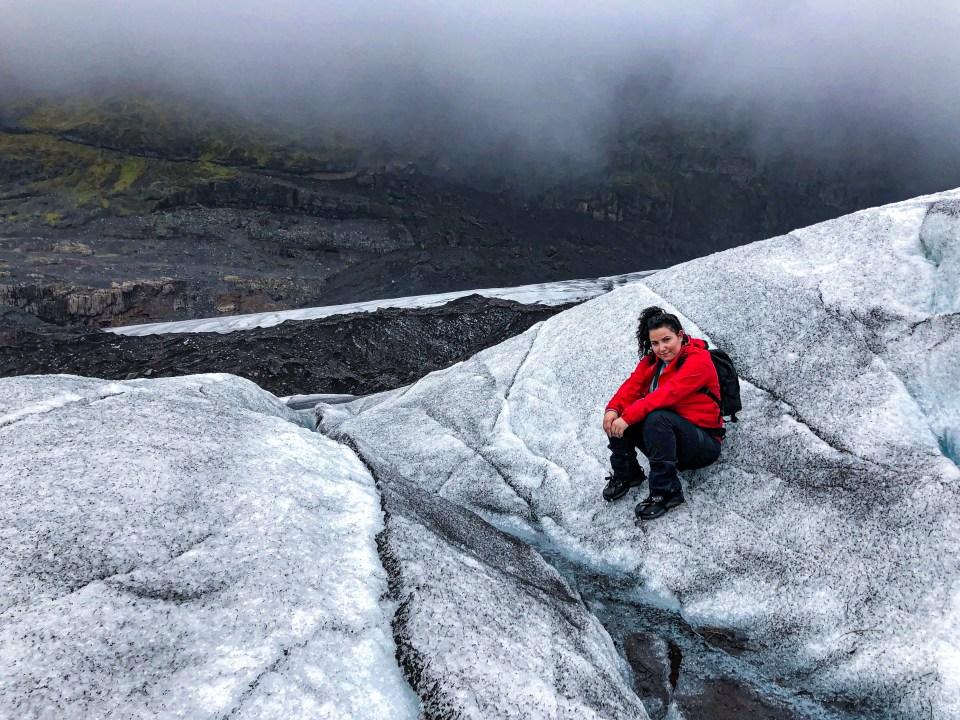 Randonnée sur le glacier
