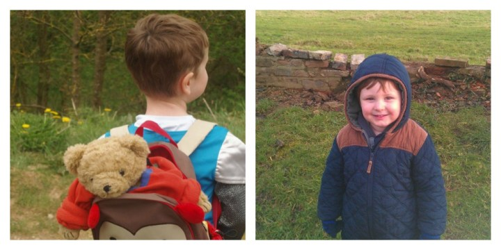 My two just love exploring the great outdoors, regardless of what the UK weather throws at us!