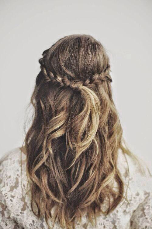 Which Style? Simple Hairstyles Long Hair