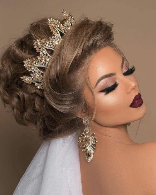 50 Quinceanera Hairstyles That Can Make It Memorable Curly Craze